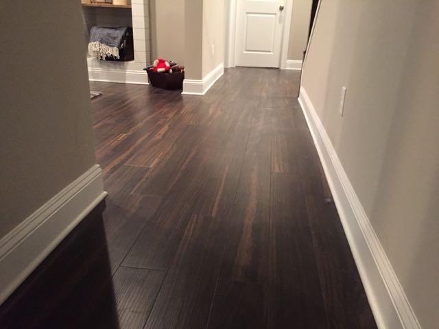 New Luxury Vinyl Plank In Basement, Vinyl Plank Flooring Basement